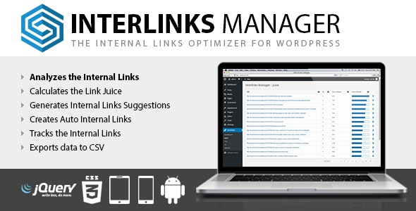 Interlinks Manager - CodeCanyon Item for Sale