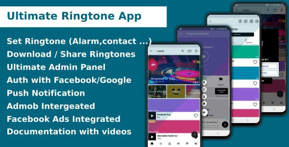 Ultimate Music and Ringtone App