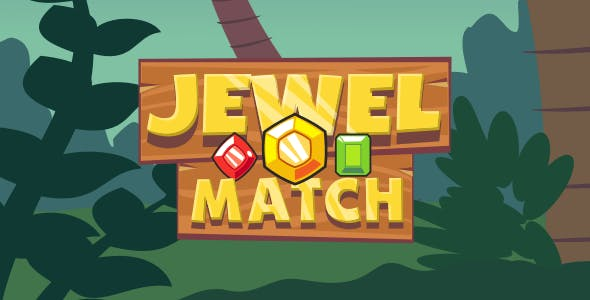 Jewel Match - HTML5 Puzzle Game
