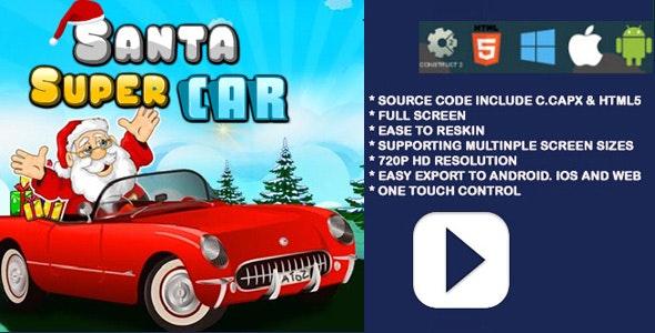 Santa Supr Car - CodeCanyon Item for Sale