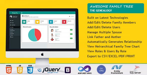 Family Tree Plugins, Code & Scripts from CodeCanyon