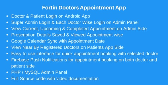 Fortin Doctor Android - CodeCanyon Item for Sale