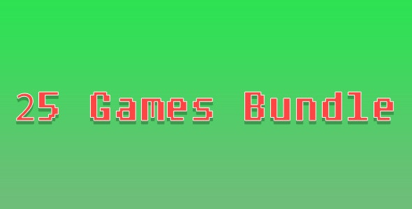 25 Games Bundle - CodeCanyon Item for Sale