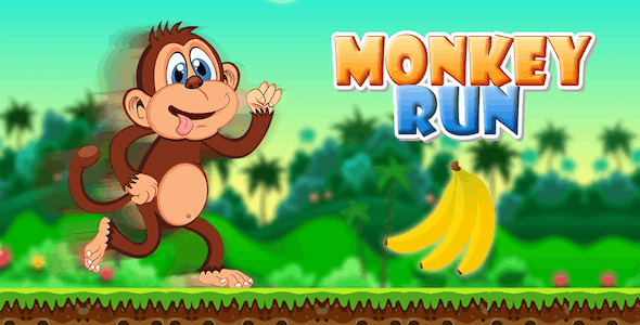 Monkey Banana Kong Run Android studio