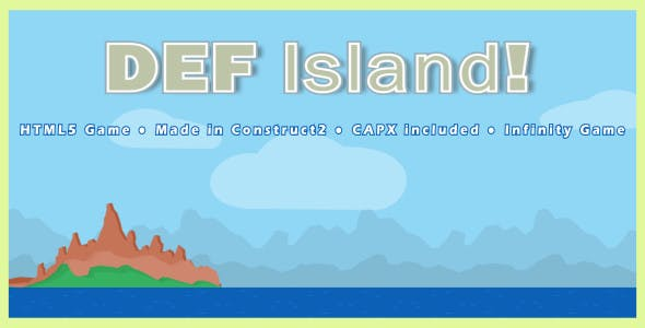 DEF island! - HTML5 Action Game