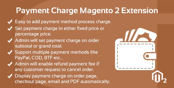 Payment Charge Magento 2 Extension