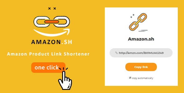 Amazon.sh - Amazon product link shortener