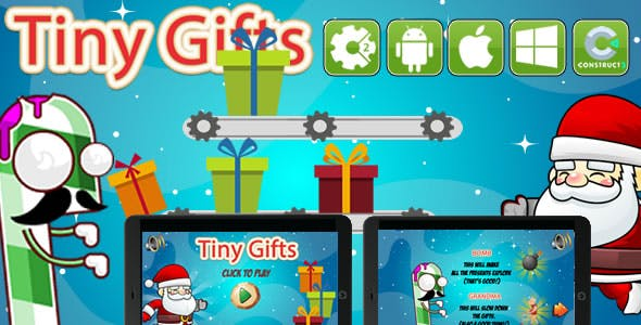 Tiny Gifts - Html5 Game(CAPX)