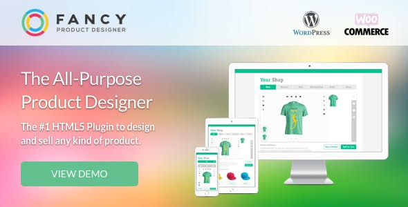 Fancy Product Designer | WooCommerce WordPress        Nulled