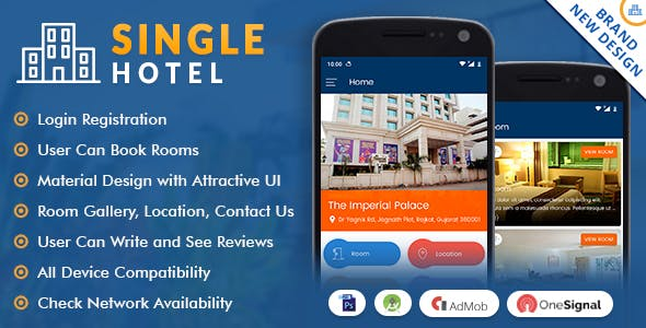 Android Hotel App Plugins, Code & Scripts from CodeCanyon