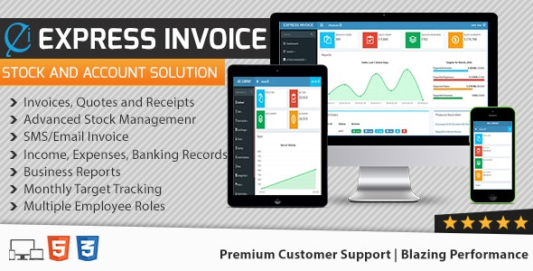 Express Invoice - The Complete Billing Software - CodeCanyon Item for Sale