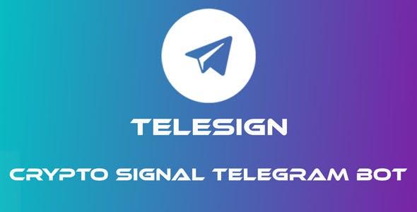 TeleSign - Crypto Signal Telegram Bot