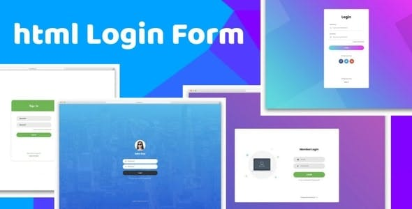 Responsive Login form - HTML5 and CSS3