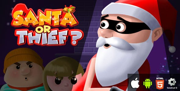 Santa or Thief? - HTML5 Game (CAPX)