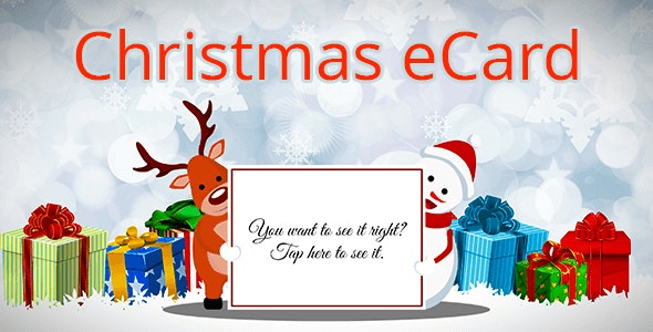 Christmas eCards - Greeting Card Online - CodeCanyon Item for Sale