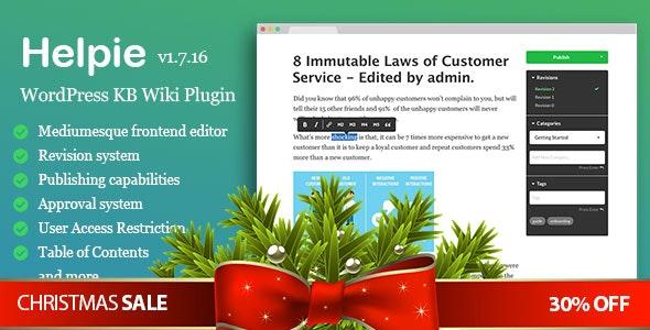 WordPress Knowledge Base Plugin - Basic - CodeCanyon Item for Sale