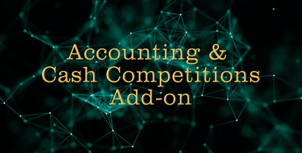 Accounting & Cash Competitions Add-on for Crypto / Stock Trading Competitions