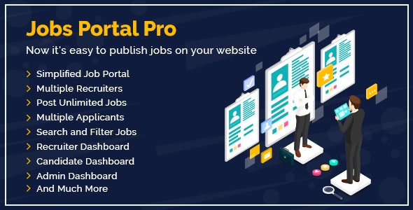 Jobs Portal Pro Plugin For WordPress - CodeCanyon Item for Sale