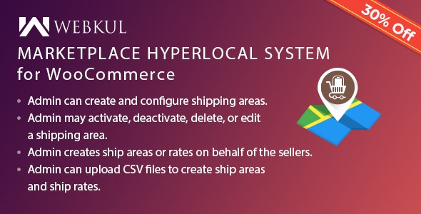 Multi Merchant Hyperlocal System for WooCommerce - CodeCanyon Item for Sale