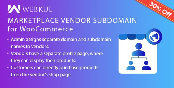 Marketplace Vendor Subdomain Plugin for WooCommerce