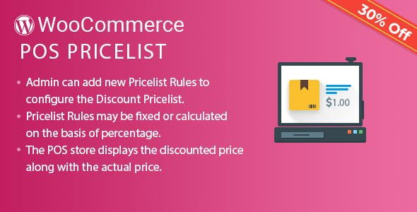 Point of Sale Price Rule (Price list) for WooCommerce