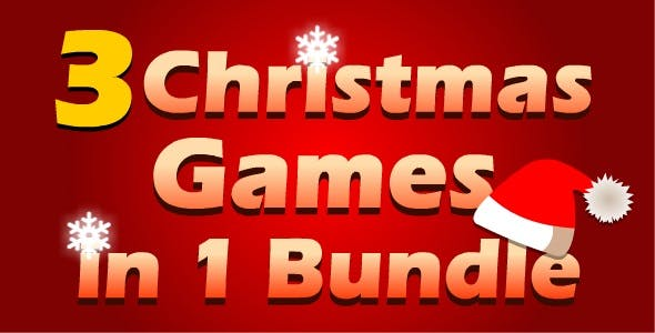 3 in 1 Christmas Games