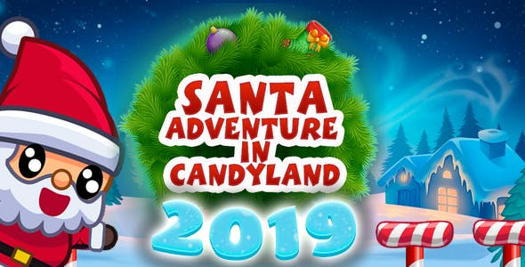 Santa 2019: adventure in candyland