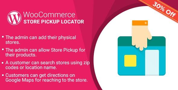 WordPress WooCommerce Store Pickup Locator Plugin