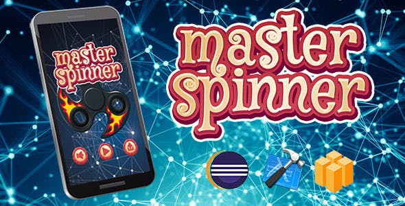 Master Spinner Android iOS Buildbox with Custom Ads