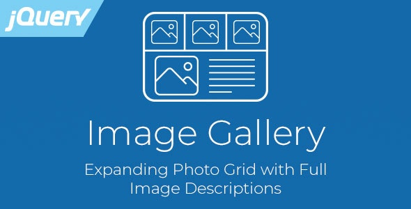 Image Gallery - Expanding jQuery Photo Grid - CodeCanyon Item for Sale
