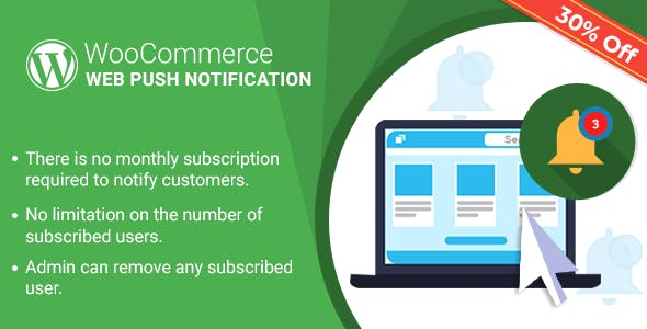 WordPress WooCommerce Web Push Notification Plugin