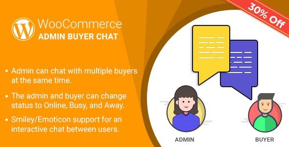 WordPress WooCommerce Admin Buyer Chat Plugin - CodeCanyon Item for Sale