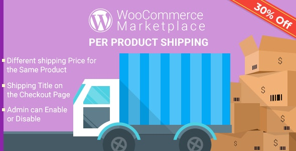 Marketplace Per Product Shipping Plugin for WooCommerce - CodeCanyon Item for Sale