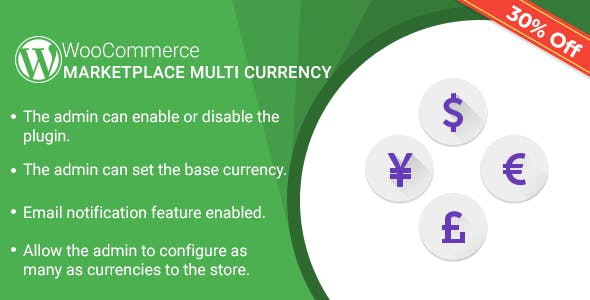 Marketplace Multi Currency Plugin for WooCommerce