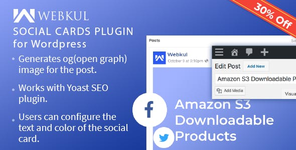Social Cards Plugin for WordPress