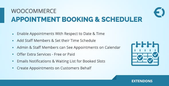 Appointly - WooCommerce Appointment Booking & Scheduler Plugin