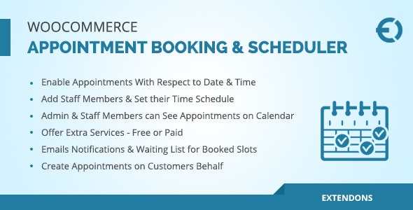 Appointly - WooCommerce Appointment Booking & Scheduler Plugin - CodeCanyon Item for Sale