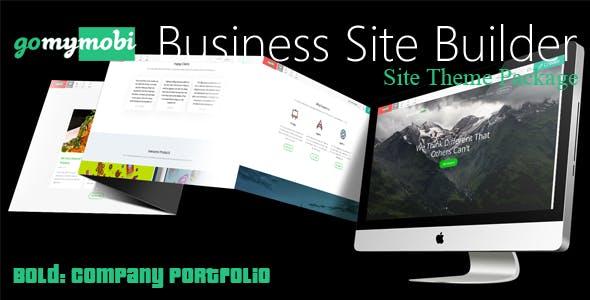 gomymobiBSB's Site Theme: Bold - Company Portfolio