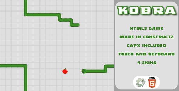 Kobra - HTML5 Casual game
