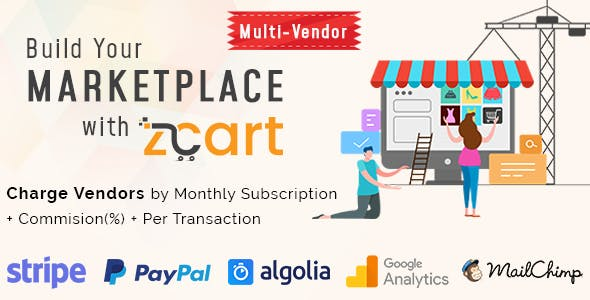 zCart Multi-Vendor eCommerce Marketplace