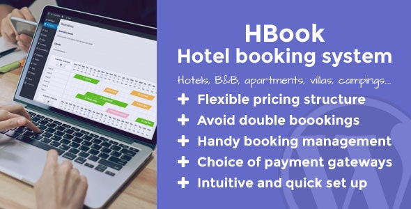 HBook - Hotel booking system - WordPress Plugin - CodeCanyon Item for Sale
