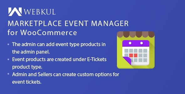 Marketplace Event Manager for WooCommerce - CodeCanyon Item for Sale