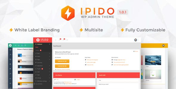 IPIDO - White label WordPress Admin Theme