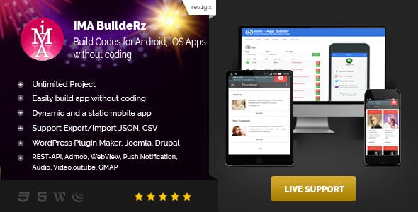 Ionic Mobile App Builder        Nulled