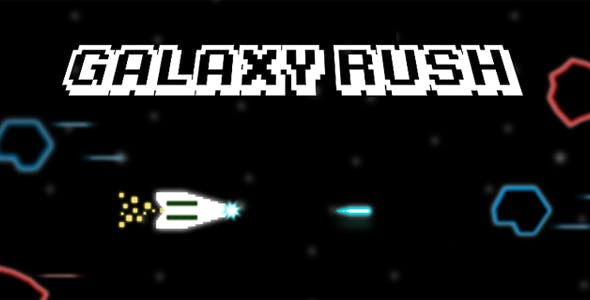 Galaxy Rush - HTML5/Construct 2 Game, Mobile & Desktop Version (CAPX included)