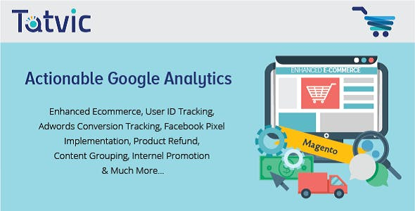 Actionable Google Analytics for Magento