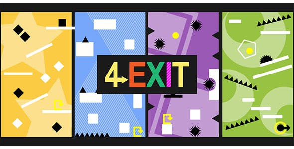 4 Exit - Buildbox Template - CodeCanyon Item for Sale