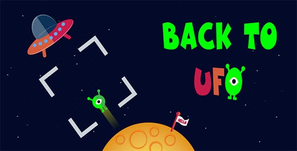 Back to UFO - Buildbox Template - CodeCanyon Item for Sale