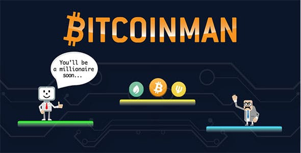 Bitcoinman - Buildbox Template