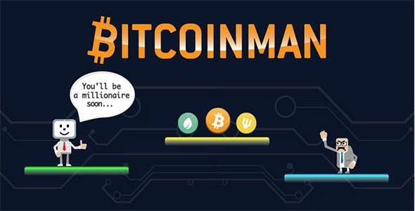 Bitcoinman - Buildbox Template